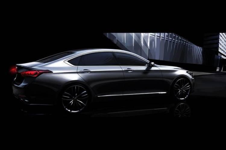 Hyundai publica renders oficiales de la nueva berlina Genesis