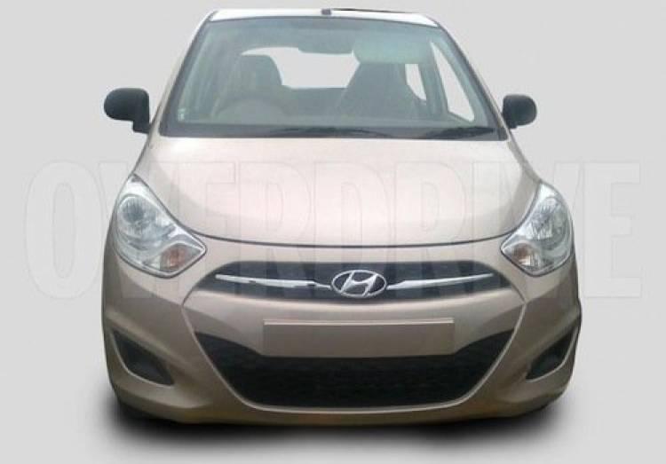 Hyundai i10 2011, fotos espía