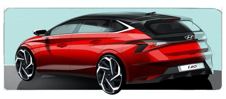 Hyundai I20 Boceto 2020 2