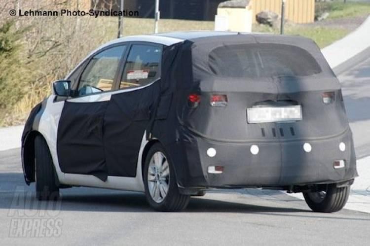 Hyundai im25, fotos espía