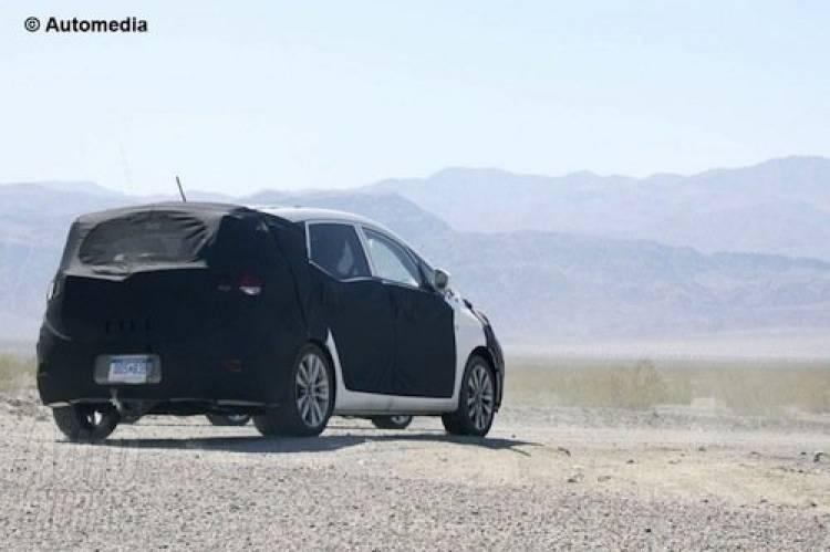Hyundai im35, fotos espía