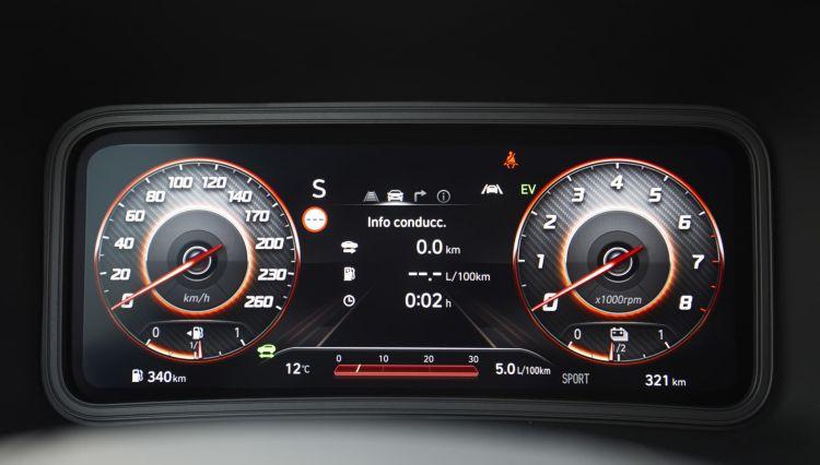 Hyundai Kona Hibrido Hev 2021 Prueba Analisis 50