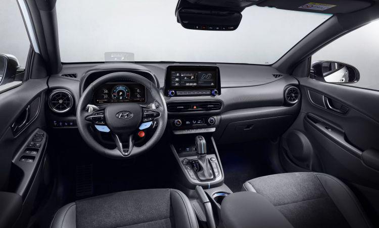Hyundai Kona N 2021 Precios Interior Habitaculo