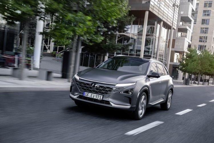 Hyundai Nexo Hidrogeno Verde
