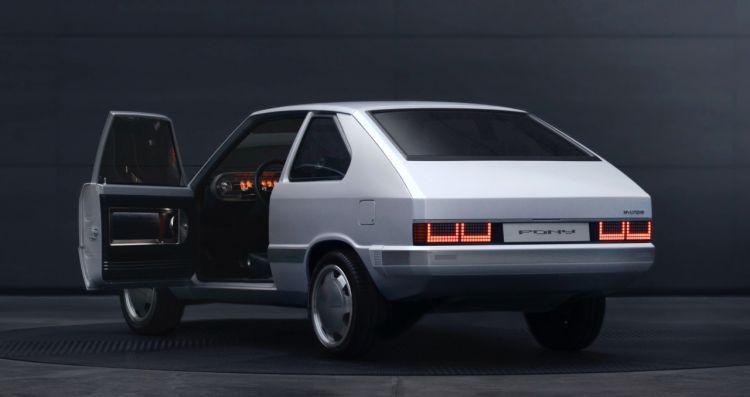 Hyundai Pony Ev Retro 2021 3
