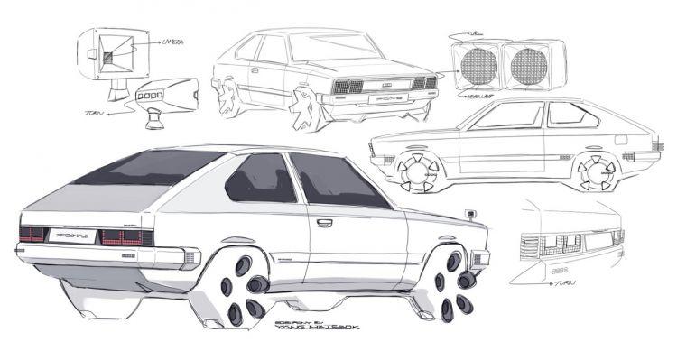 Hyundai Pony Ev Retro 2021 8