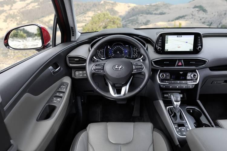 Hyundai Santa Fe Interior 01