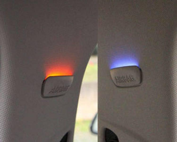Colores iluminación ambiental BMW Serie 1