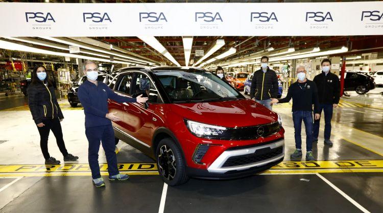Inicio Fabricacion Opel Crossland 02