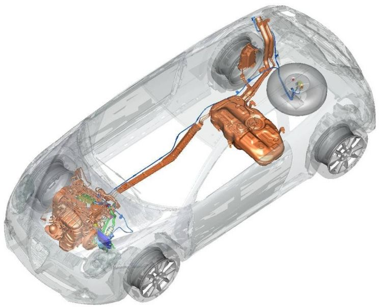 Instalar Conversion Glp Etiqueta Eco Alfa Romeo Mito Esquema
