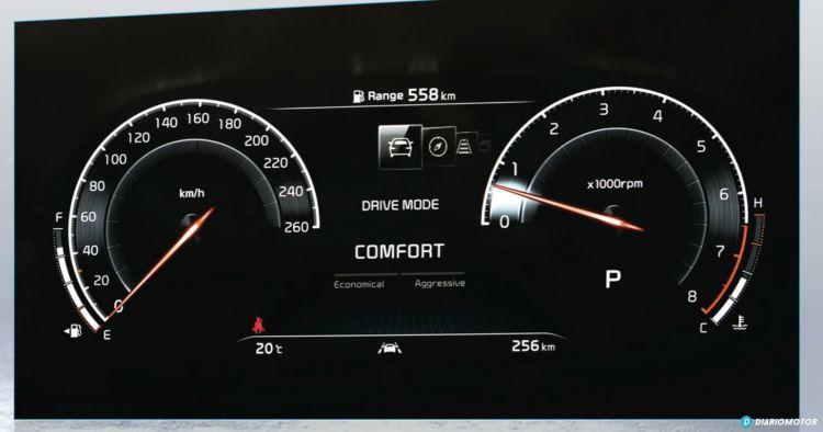 Instrumentacion Digital Kia Ceed