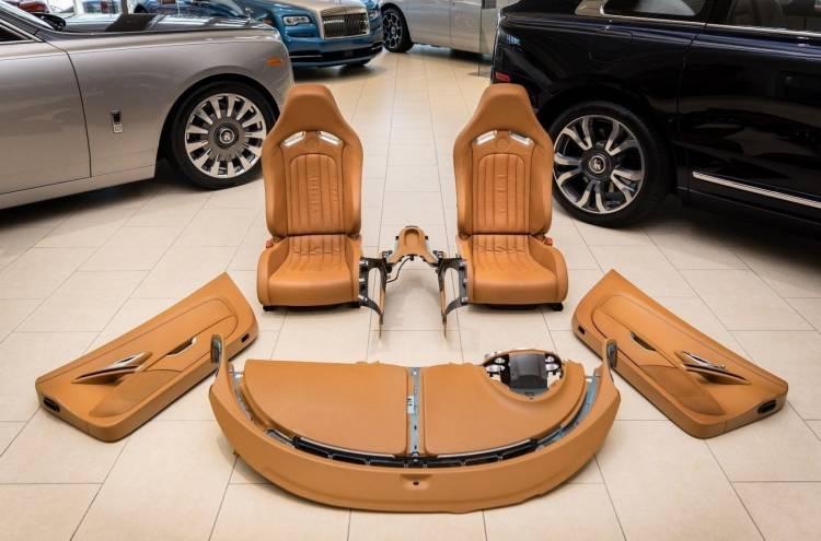 Interior Bugatti Veyron En Venta Portada
