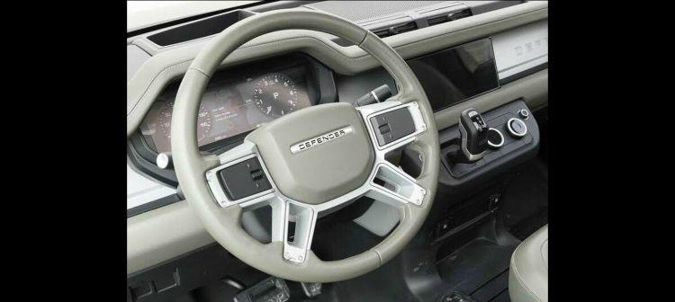 Interior Land Rover Defender 2019