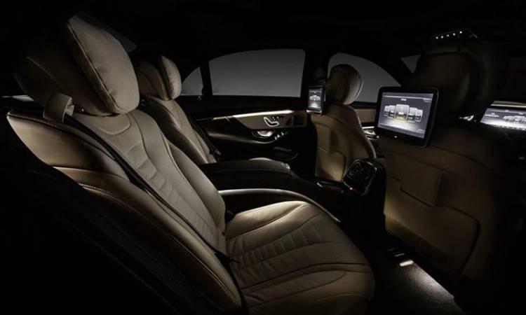 Interior del Mercedes Clase S