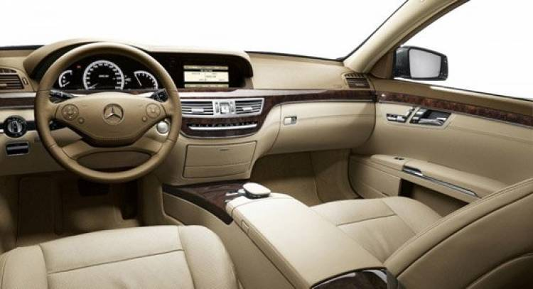 Interior Mercedes S350 BlueTec