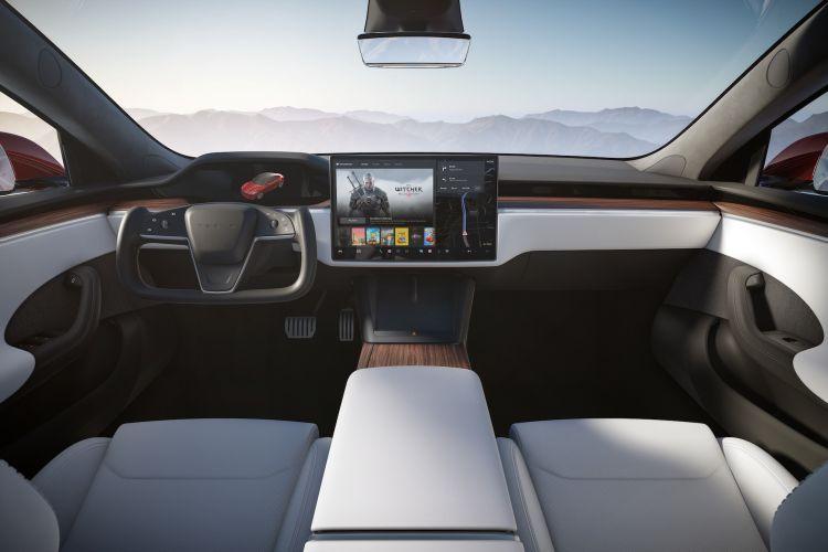 Interior Tesla Model S 2022 105
