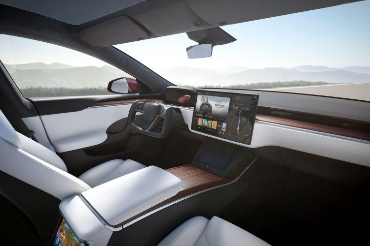 Interior Tesla Model S 2022 106