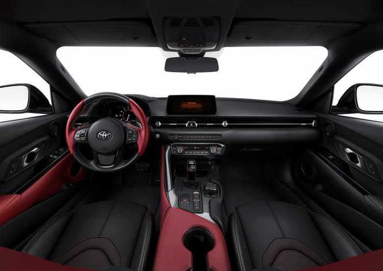 Interior Toyota Supra 20190114 02 04