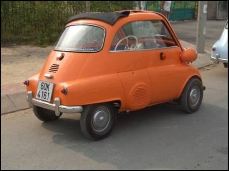 Réplica Isetta eléctrico