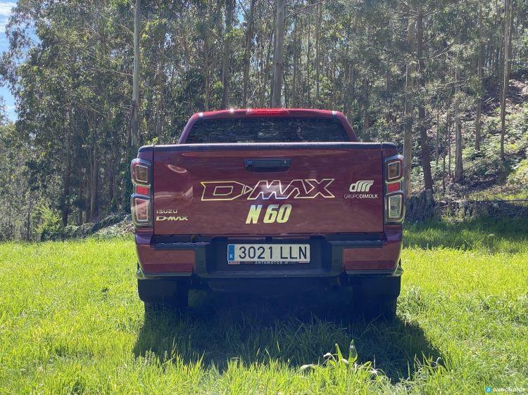 Isuzu Dmax N60ff Trasera