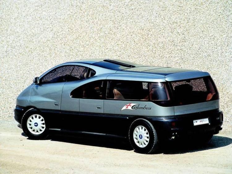 Prototipo clásico: Italdesign Columbus, un bizarro monovolumen V12 para navegar en tierra (1992)