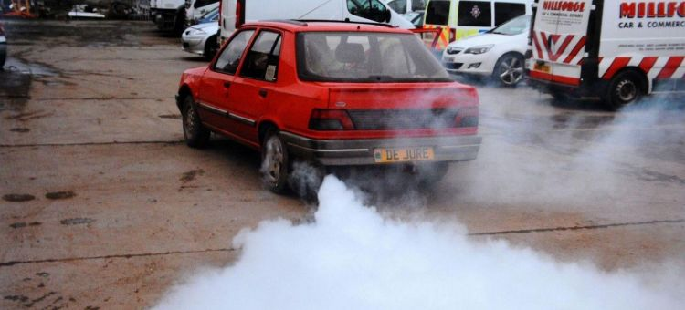 Itv Diesel Humo Escape