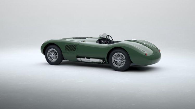 Jaguar C Type 2021 Le Mans 0121 014