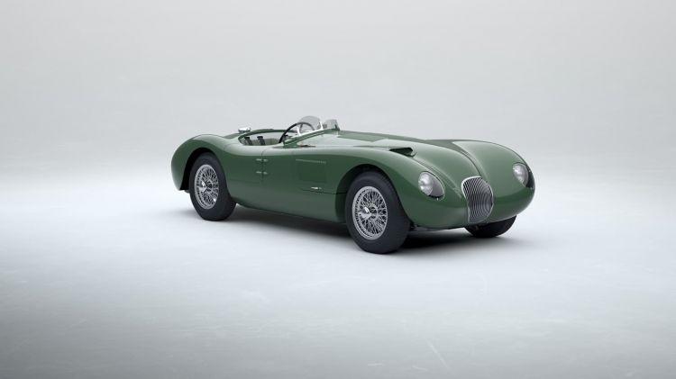 Jaguar C Type 2021 Le Mans 0121 016