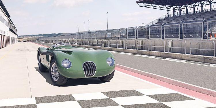 Jaguar C Type 2021 Le Mans 0121 020