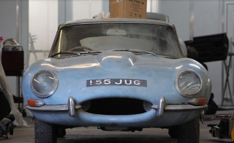 Jaguar E Type Restauracion Dm 1
