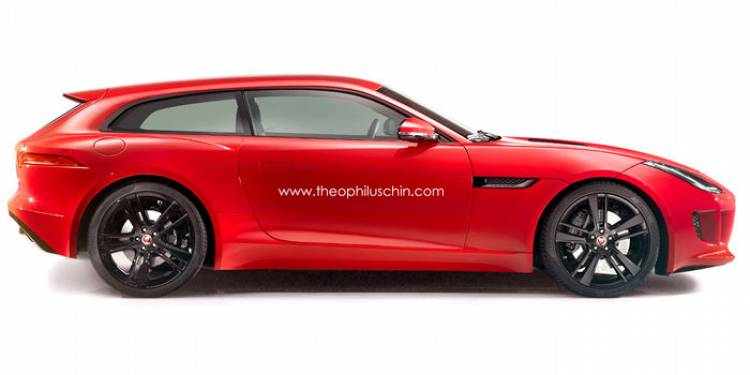 Jaguar F-Type Shooting Brake: imaginando al F-type convertido en shooting brake
