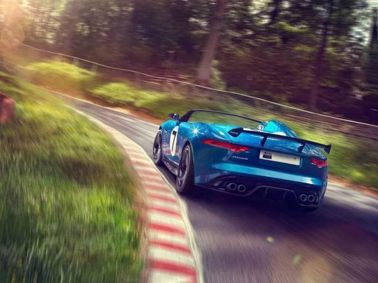 Jaguar F-Type Project 7 Concept, altas prestaciones y aires competitivos para un ejemplar único
