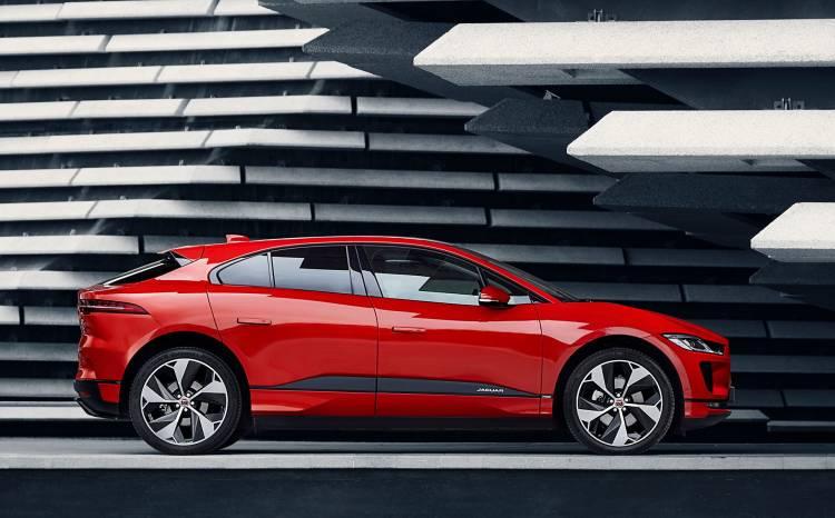 Jaguar I Pace 2019 Rojo Exterior Lateral