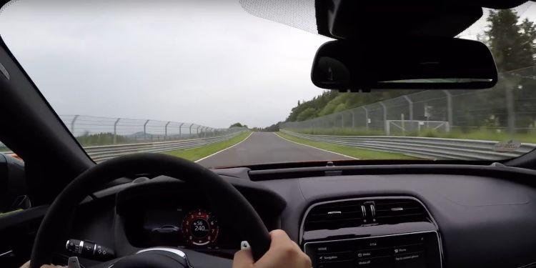 Jaguar Xe Project8 Video 1