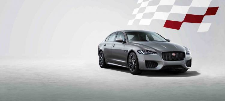Jaguar Xf Chequered Flag P