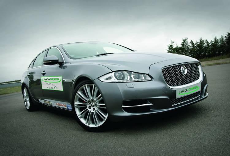 Jaguar XJ Limo Green, un XJ eléctrico con autonomía extendida
