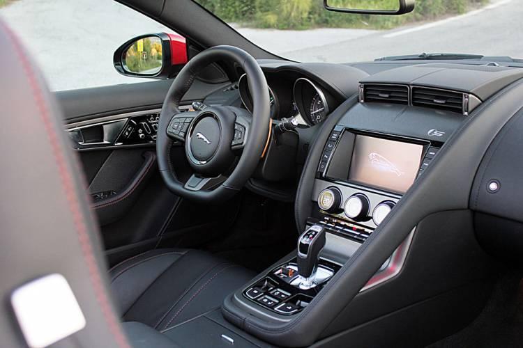 Interior Jaguar F-Type