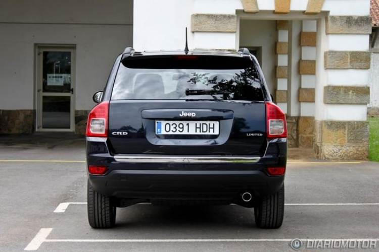 Jeep Compass 2.2 CRD 4x2 Limited Plus 136 CV, a prueba (II)