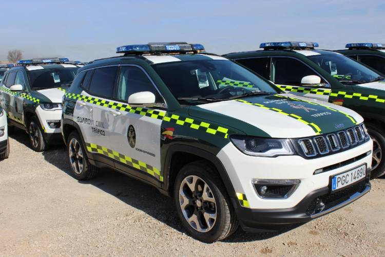 Jeep Compass Guardia Civil 1