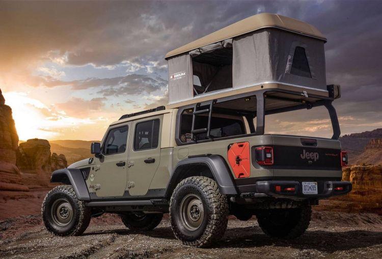 Jeep Gladiator Concept Wayout Camper 0419 017
