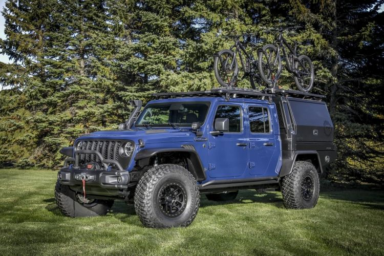 Using Exclusive Jeep® Performance Parts (jpp) And Custom Access