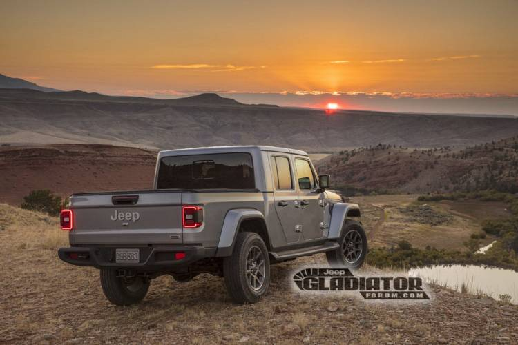 Jeep Gladiator Wrangler Pick Up Dm 2