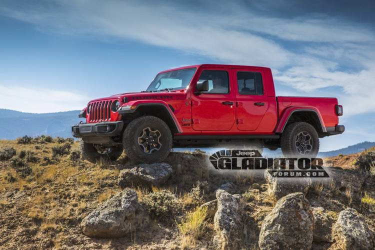 Jeep Gladiator Wrangler Pick Up Dm 3