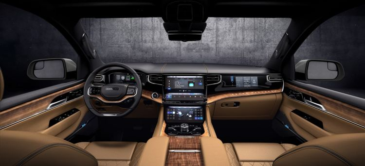 All New 2022 Grand Wagoneer Features The Pinnacle Of Premium Suv