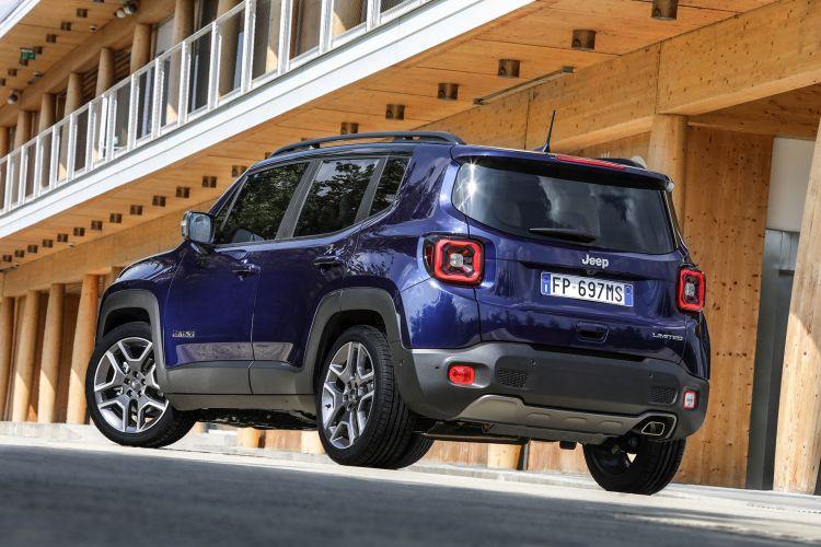 Jeep Renegade 2021 Limited Azul 2 Trasera