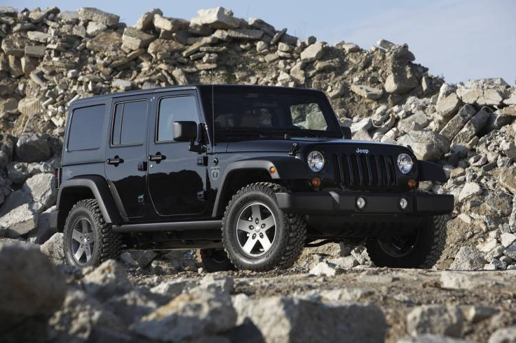 Jeep Wrangler Call of Duty: Black Ops Edition, sólo para jugones