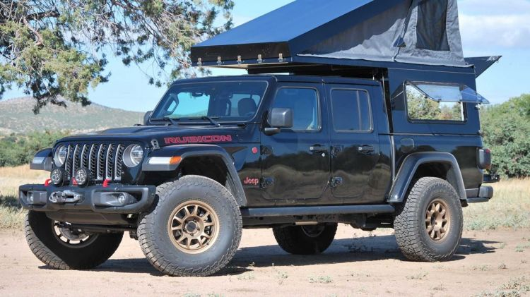Jeep Wrangler Gladiator Camper 1019 005