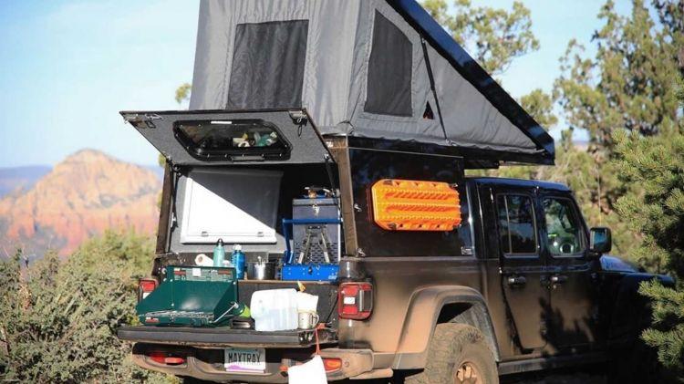 Jeep Wrangler Gladiator Camper 1019 008