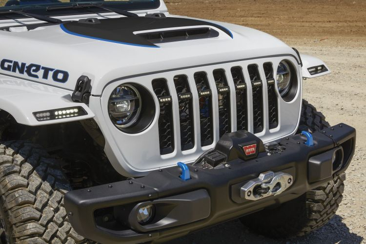 The Jeep® Magneto Bev Concept Comes Equipped With A Jpp 2 Inch