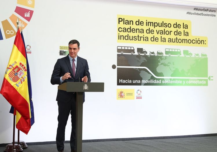 Julio 2020 Matriculaciones Plan Renove 2020 Moves Pedro Sanchez Gobierno